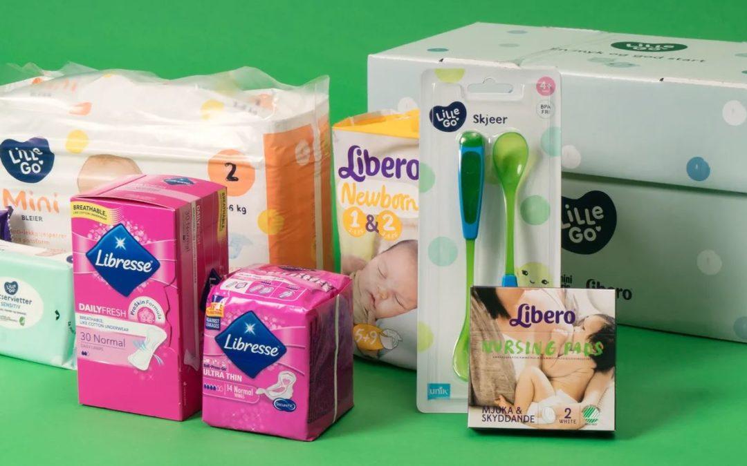 Gratis babypakke fra KIWI