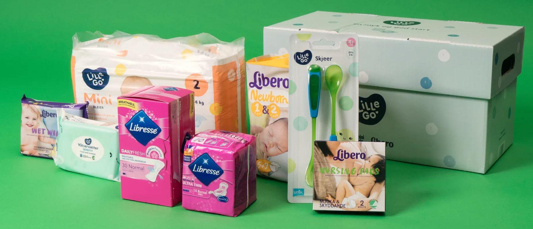 Gratis Babypakke KIWI Lille GO