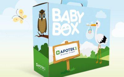 Gratis Babybox fra Apotek 1